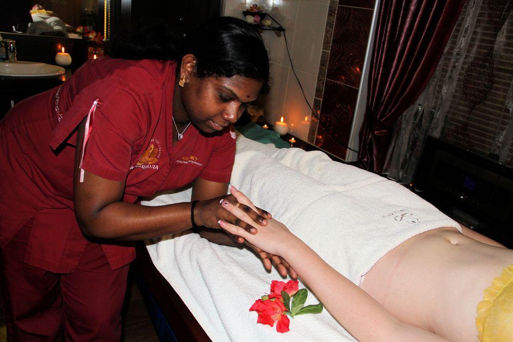 Аюрведический массаж рук