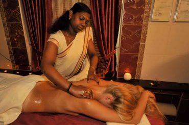 Общий масляный массаж / General oil massage